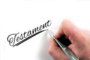 Erbschaft, Testament, Steuerfreiheit