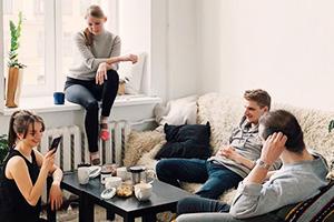 Wohnung, Vermietung, Angehörige, Kinder